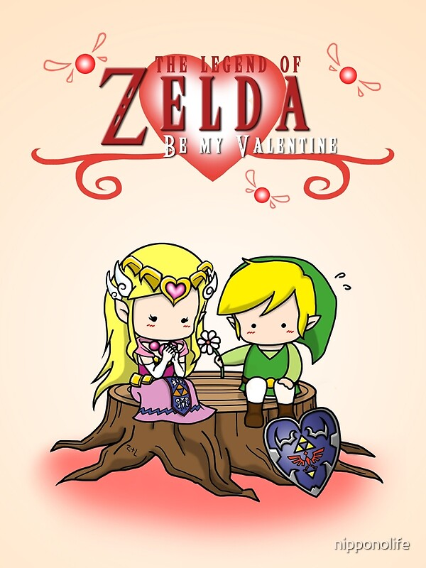 Quot The Legend Of Zelda Valentine S Day Quot Greeting Cards By