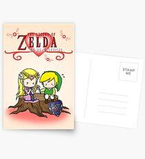 The Legend of Zelda : Valentine's day Postcards