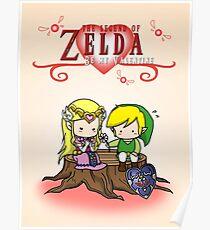 The Legend of Zelda : Valentine's day Poster