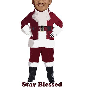Max Holloway Stay blessed holidays by dno123