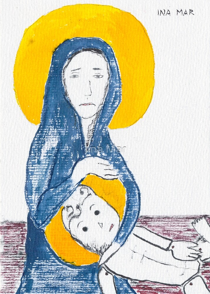 Virgin Mary's missed abortion by Ina Mar