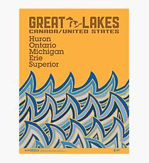 "Great Lakes ""HOMES"" Photographic Print"