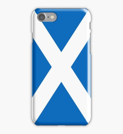 Smartphone Case - Flag of Scotland - Vertical iPhone Case/Skin