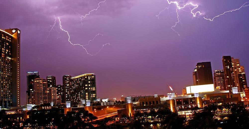 Lightning by Jayne Moberley