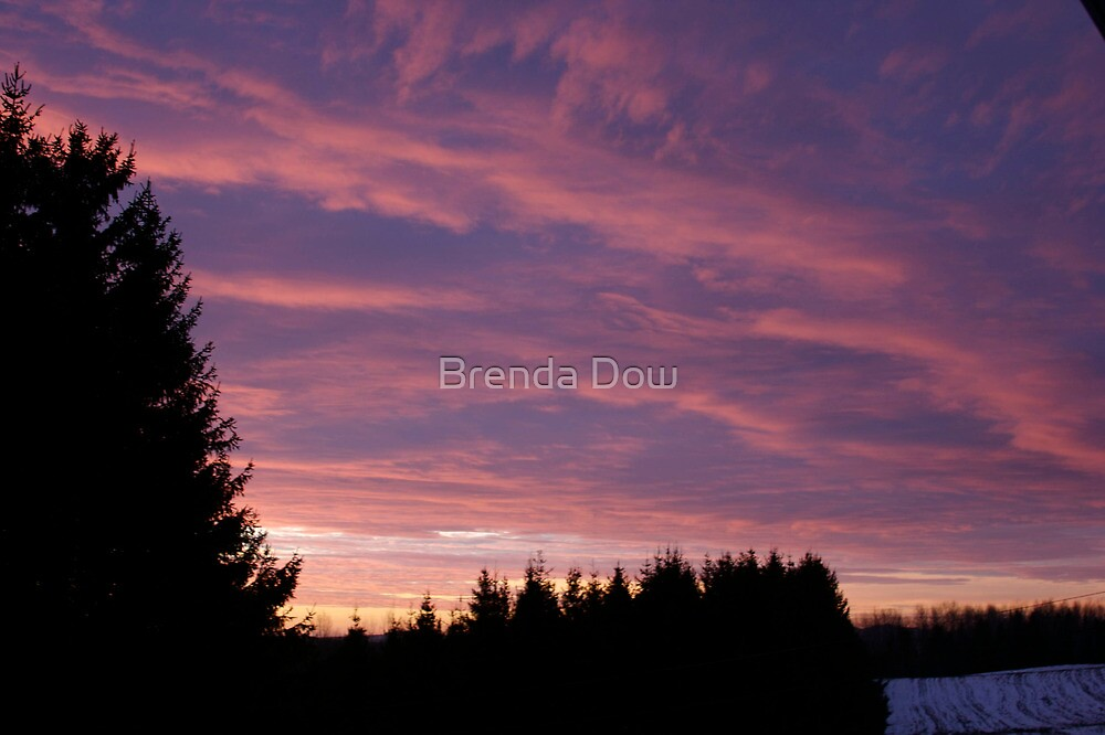First Sunrise by Brenda Dow