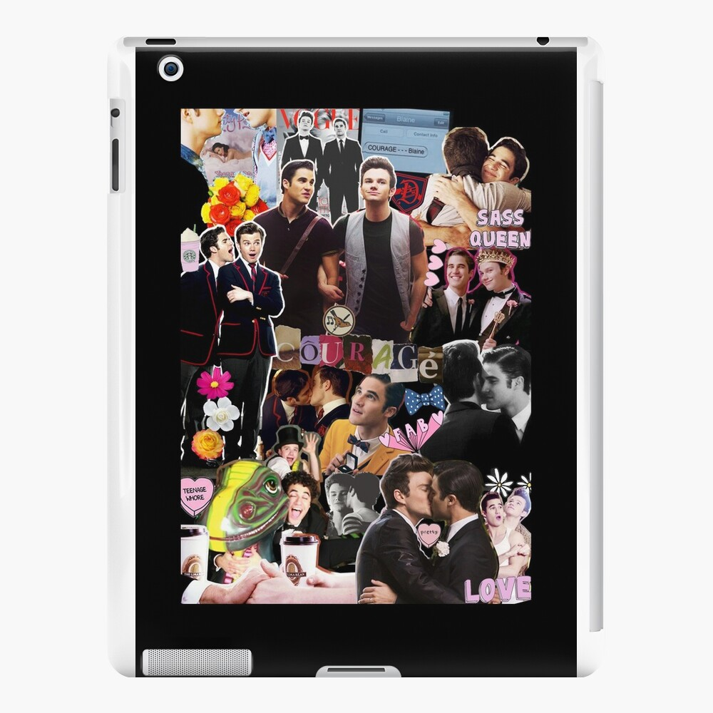 Klaine-Collage iPad-Hüllen & Klebefolien