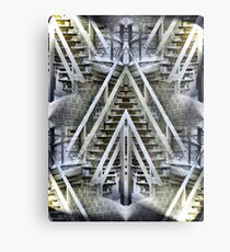 Stairway of Confusion Metal Print