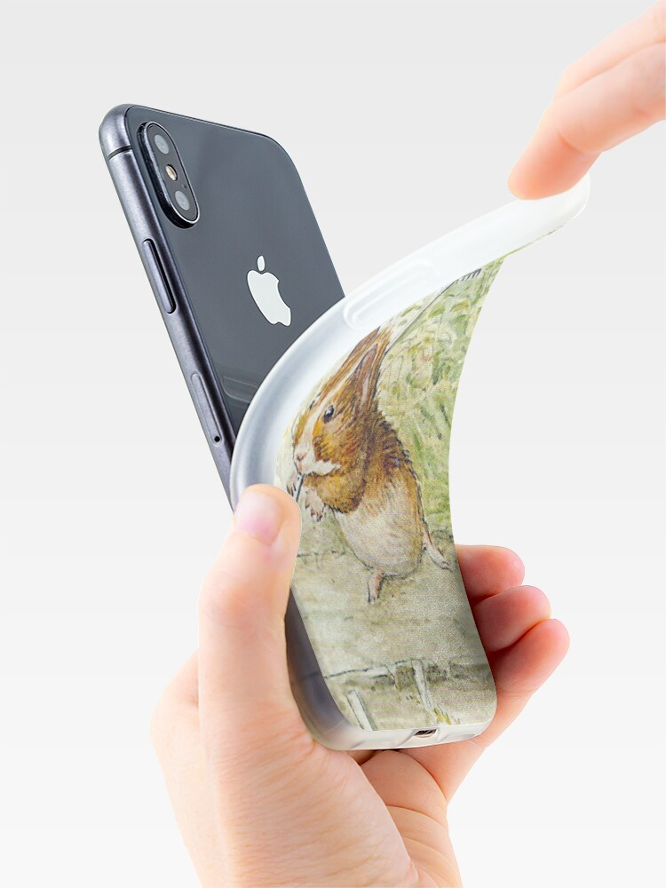Alternate view of Guinea Pig Gardeners - Beatrix Potter iPhone Case & Cover