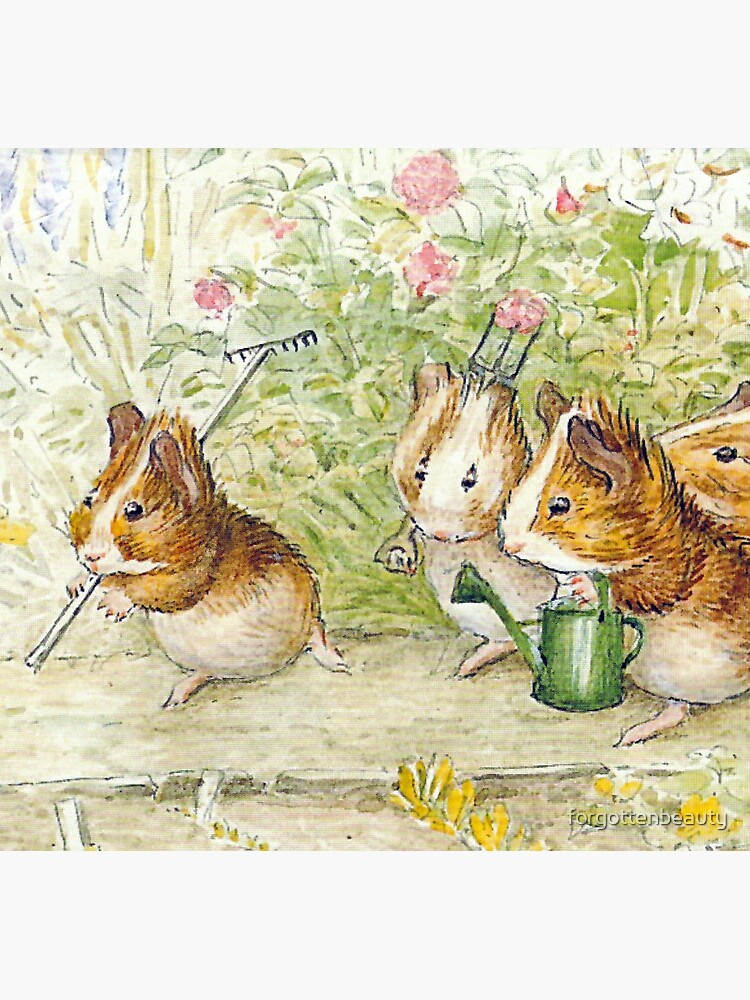 Guinea Pig Gardeners - Beatrix Potter by forgottenbeauty