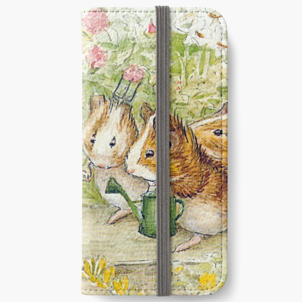 Guinea Pig Gardeners - Beatrix Potter iPhone Wallet