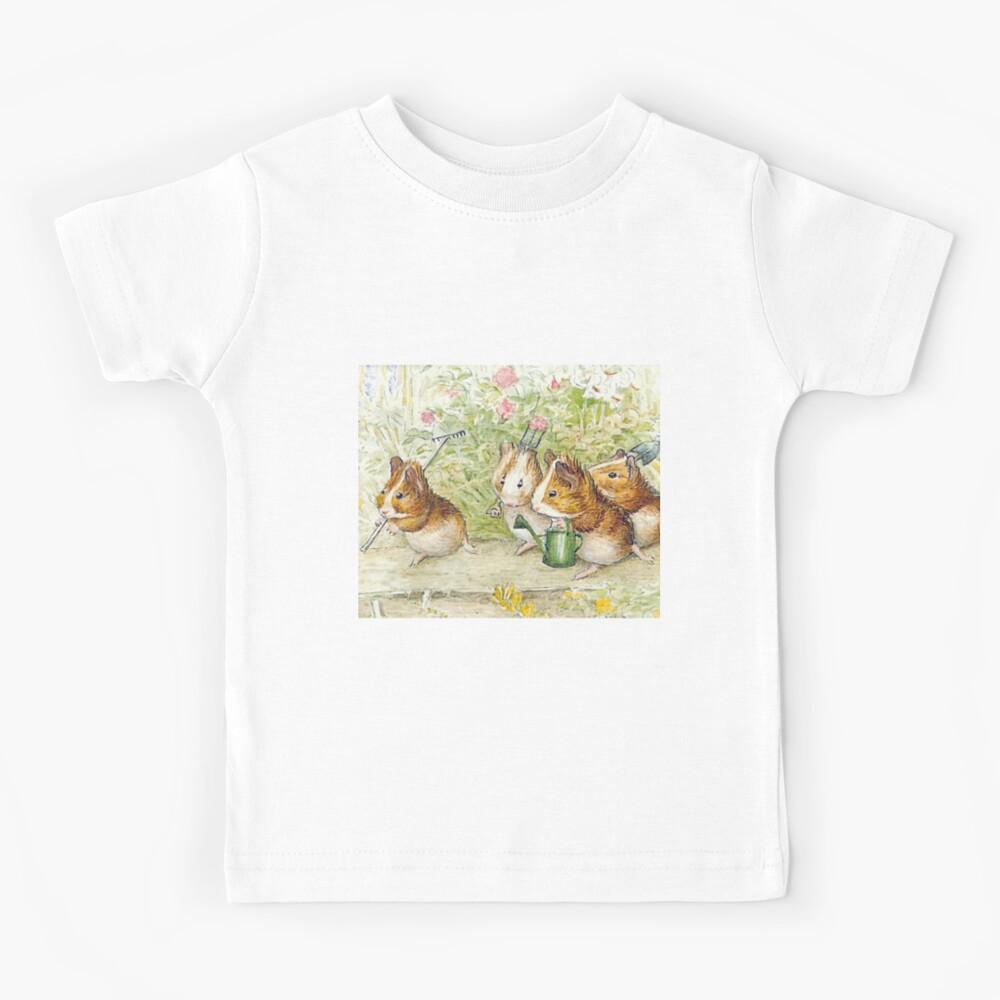 Guinea Pig Gardeners - Beatrix Potter Kids T-Shirt
