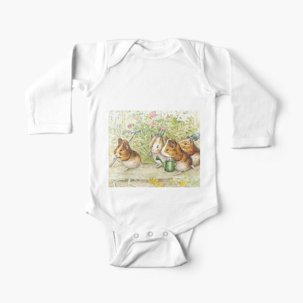 Guinea Pig Gardeners - Beatrix Potter Baby One-Piece
