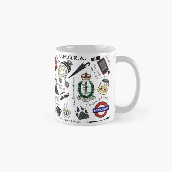 Sherlock Collage (color) Classic Mug