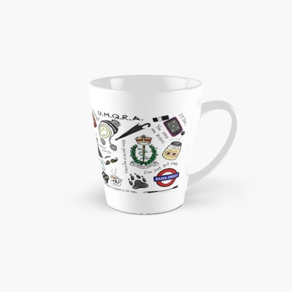 Sherlock Collage (couleur) Mug long