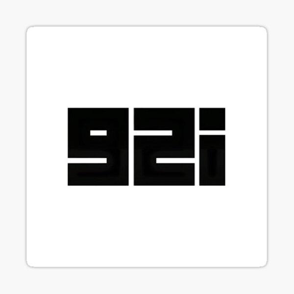 92i - BOOBA / WHITE Sticker