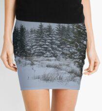 Real-life Painting Mini Skirt