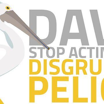 Disgruntled Pelican by jkwatson5