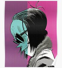 Ace from Gorillaz Poster