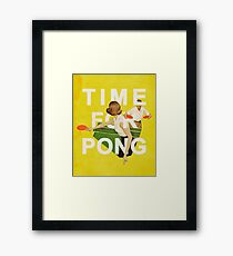 Time for Pong Framed Print