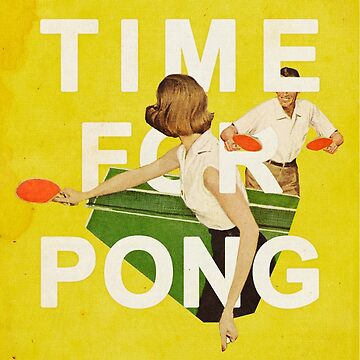 Time for Pong by heatherlandis