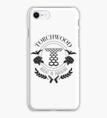 Torchwood - Agent in Training iPhone Case/Skin