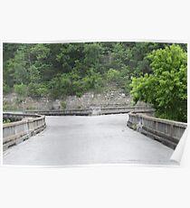 """Galena """"Y"""" Bridge Poster"""