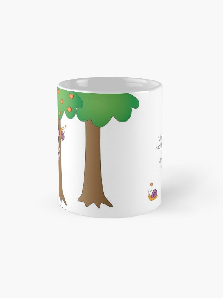 Alternative Ansicht von Kiara - Bäume umarmen Tasse (Standard)