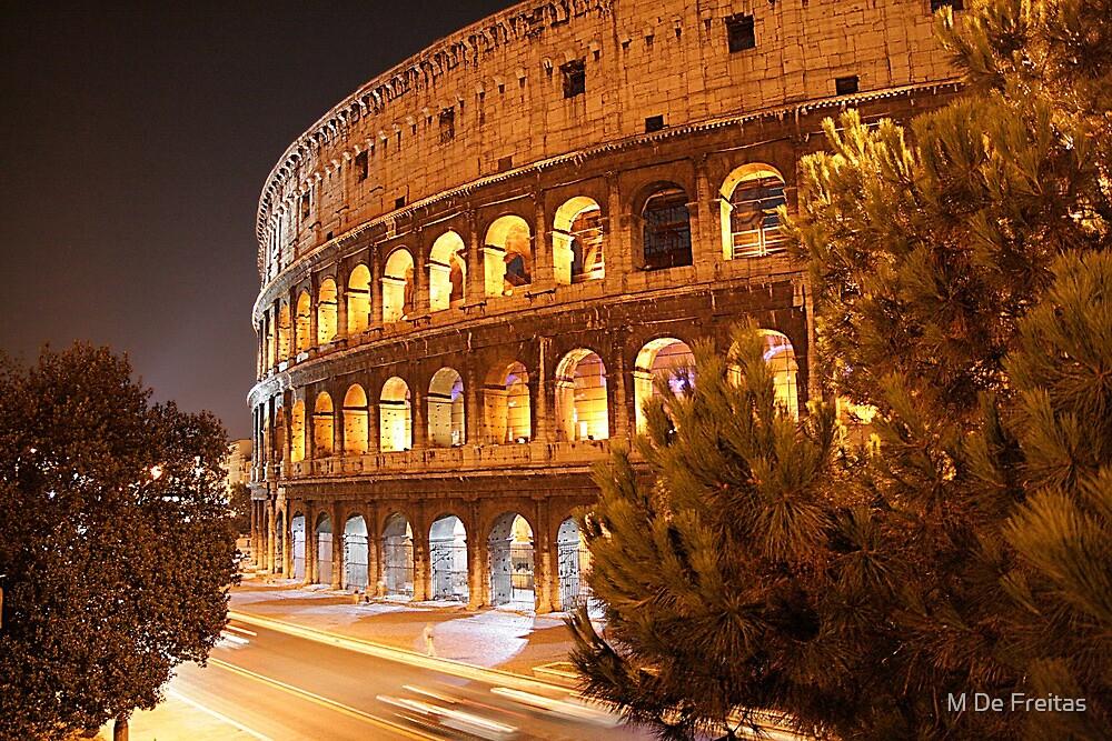 Colosseum by M De Freitas