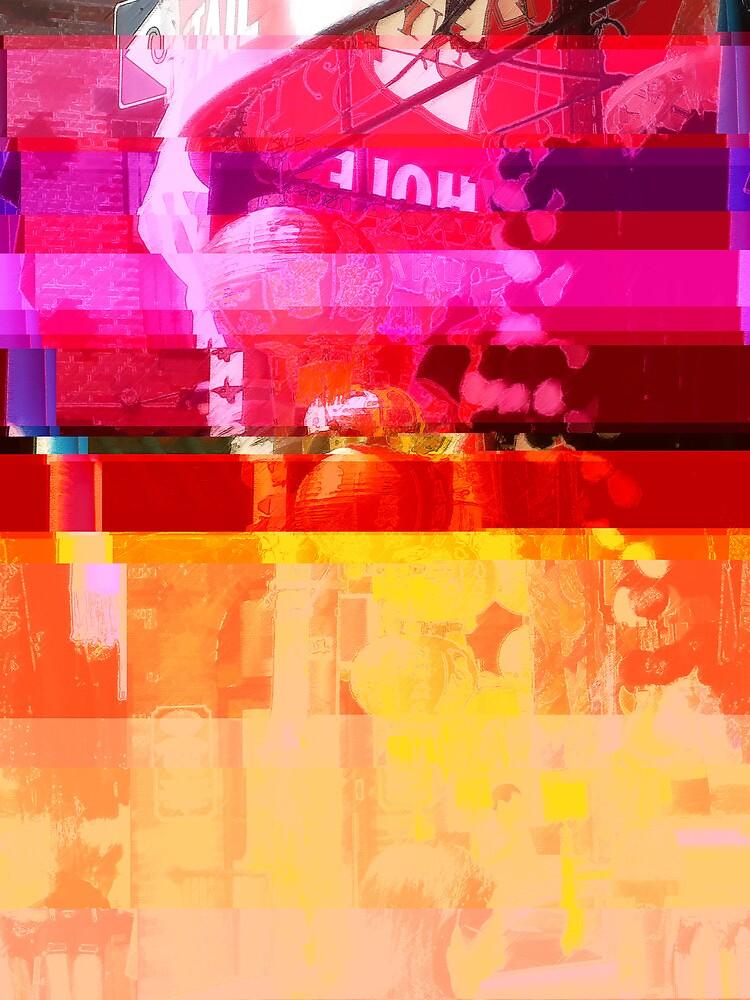New York Glitch 11 by Mick Yates