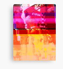 New York Glitch 11 Canvas Print