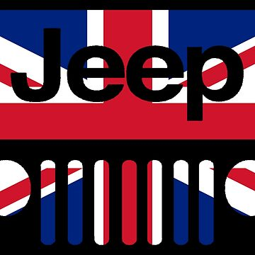 Jeep Logo Great Britain by IntrepiShirts