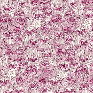 just sloths cherry pearl by scrummy