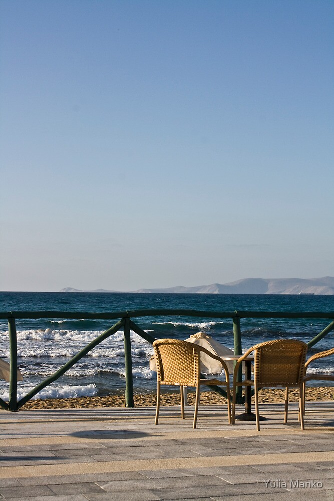 Paradise for two (Crete, Greece) by Yulia Manko