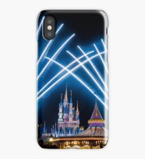 Just Do As Dreamers Do - Wishes Fireworks at Magic Kingdom iPhone Case