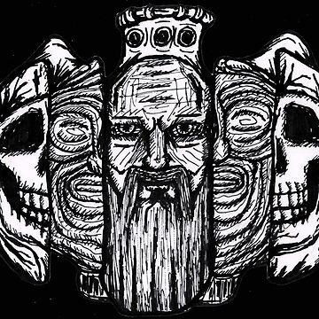 Beard life and death - sketch by angeldecuir