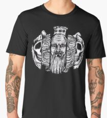 Beard life and death - sketch Men's Premium T-Shirt