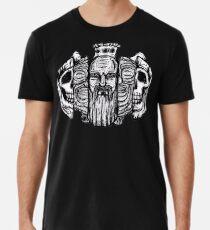 Beard life and death - sketch Camiseta premium