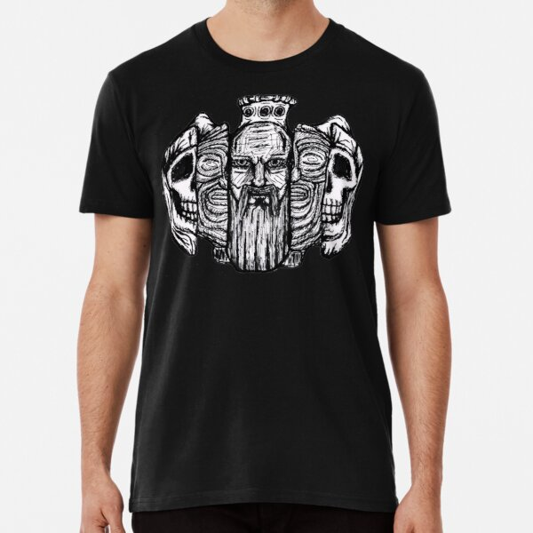 Beard life and death - sketch Premium T-Shirt