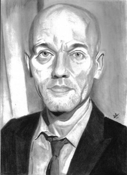 Michael Stipe by Lawrence Gillies