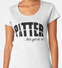 Pitter Patter Women's Premium T-Shirt