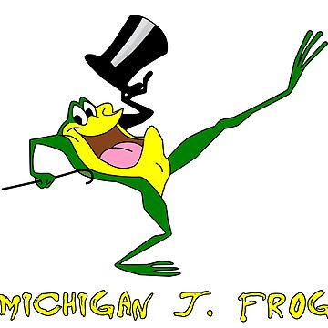Michigan J. Frog by Pop-Pop-P-Pow
