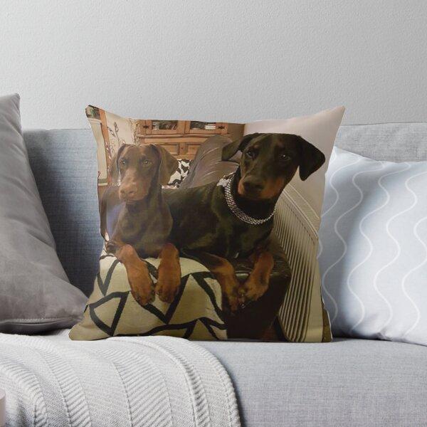 Double Take Throw Pillow