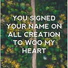 You Signed Your Name on All Creation by Drew Koch