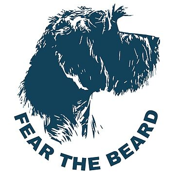 FEAR THE BEARD BLUE by boesarts