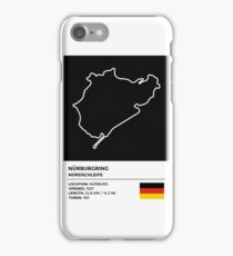 Nürburgring [Nordschleife] - v2 iPhone Case/Skin