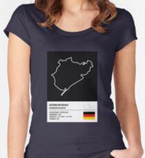 Nürburgring [Nordschleife] - v2 Women's Fitted Scoop T-Shirt