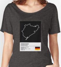 Nürburgring [Nordschleife] - v2 Women's Relaxed Fit T-Shirt