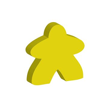 I Always Play with Yellow Meeple Board Game Design by shadowisper