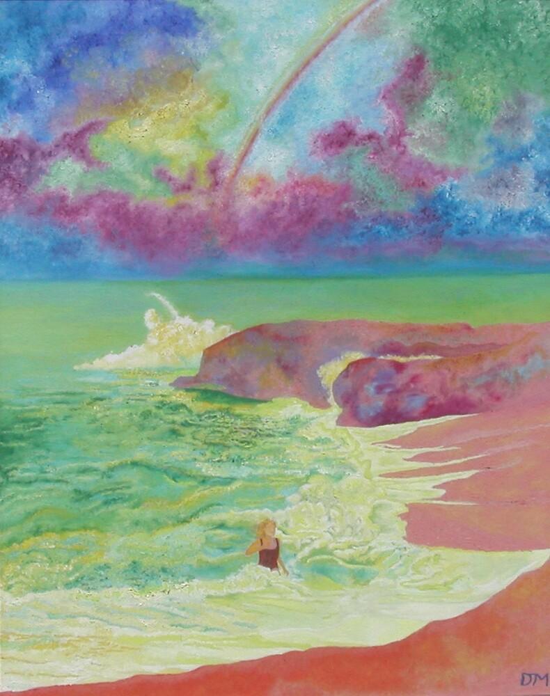 Girl On The Beach by Dan  McNay