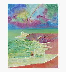 Girl On The Beach Photographic Print